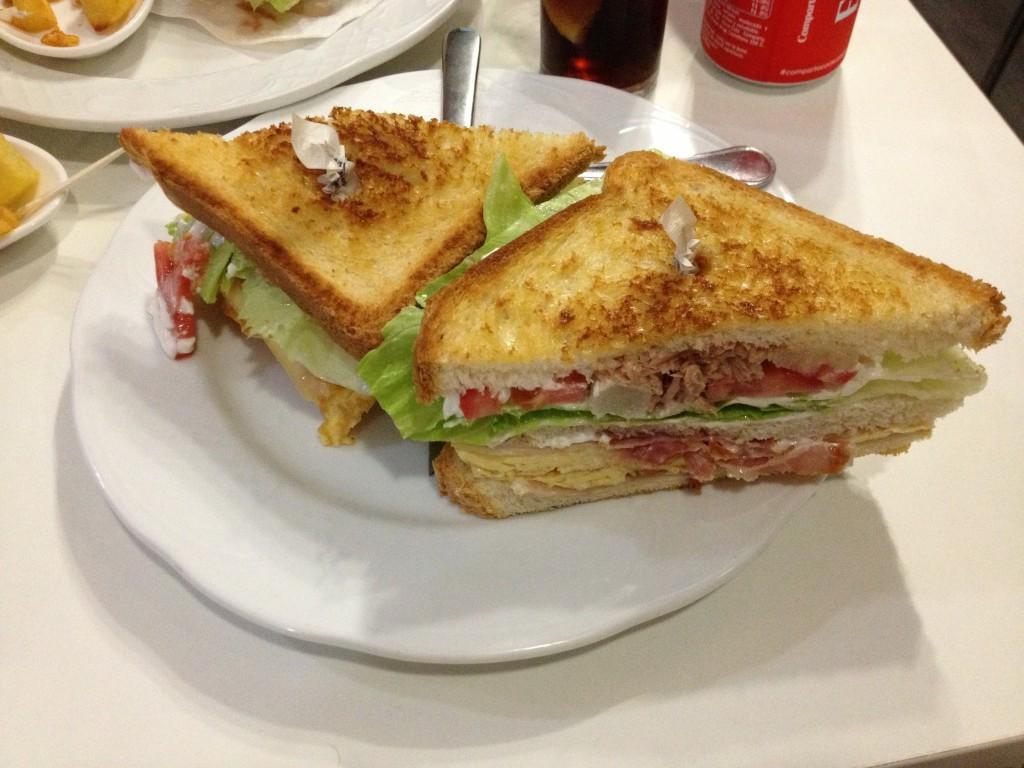 Cañonazo Sandwich La Barruca
