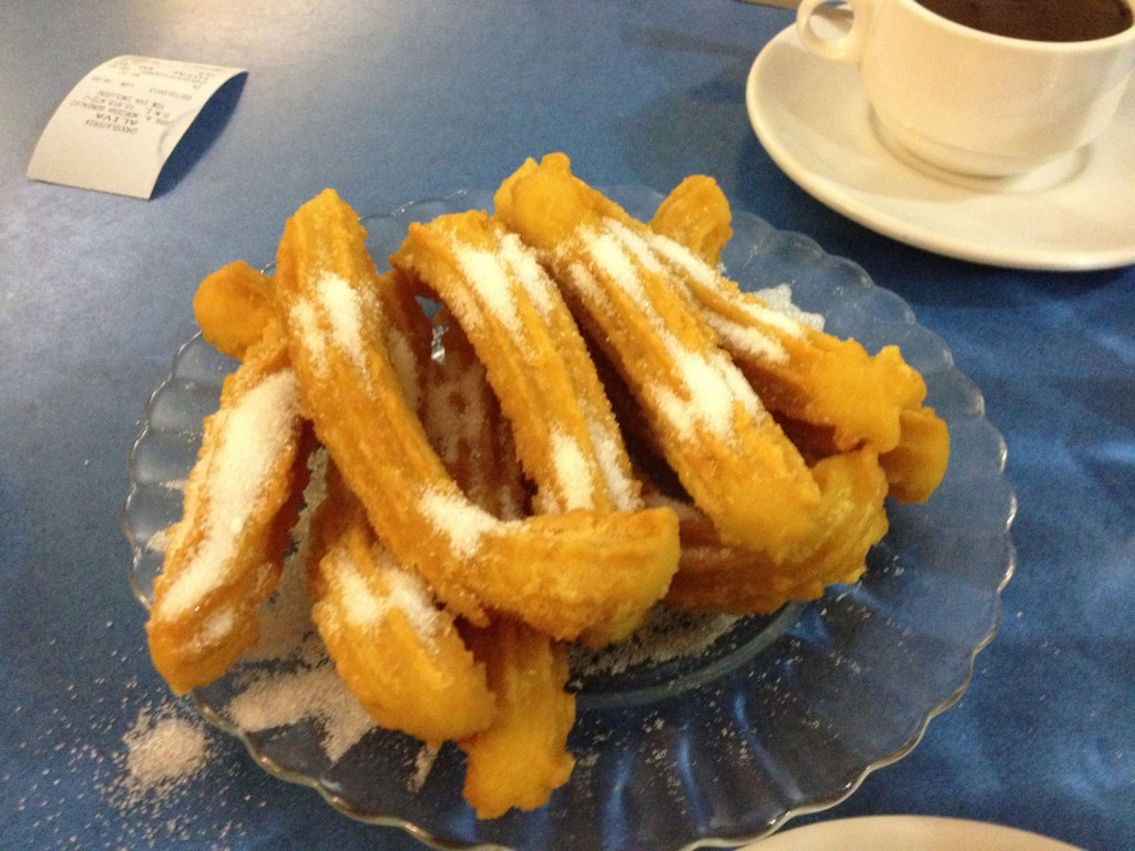 Photo of Chocolate con Churros – Chocolateria Aliva Santander