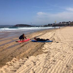 Clases de Surf Sardinero