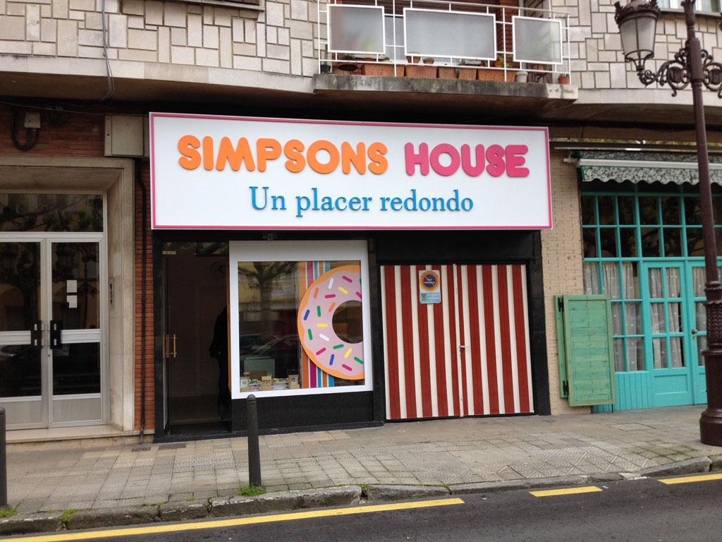 Simpsons House Torrelavega