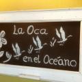 La oca en el oceano - Ruente