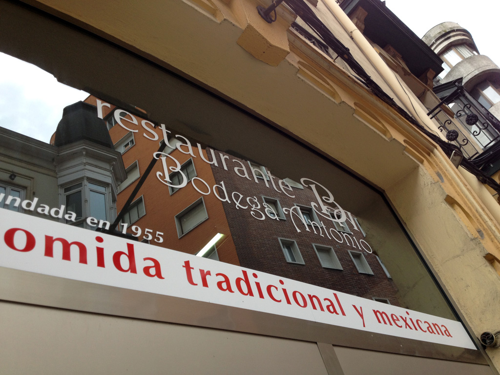 Bodega Antonio mexicano Santander