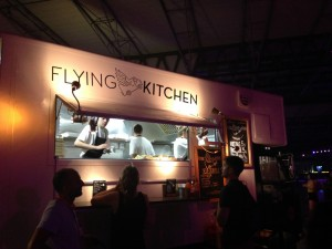 Sonar 2015 Flying Kitchen