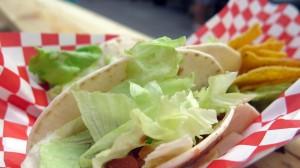 Tacos de Chile con Carne