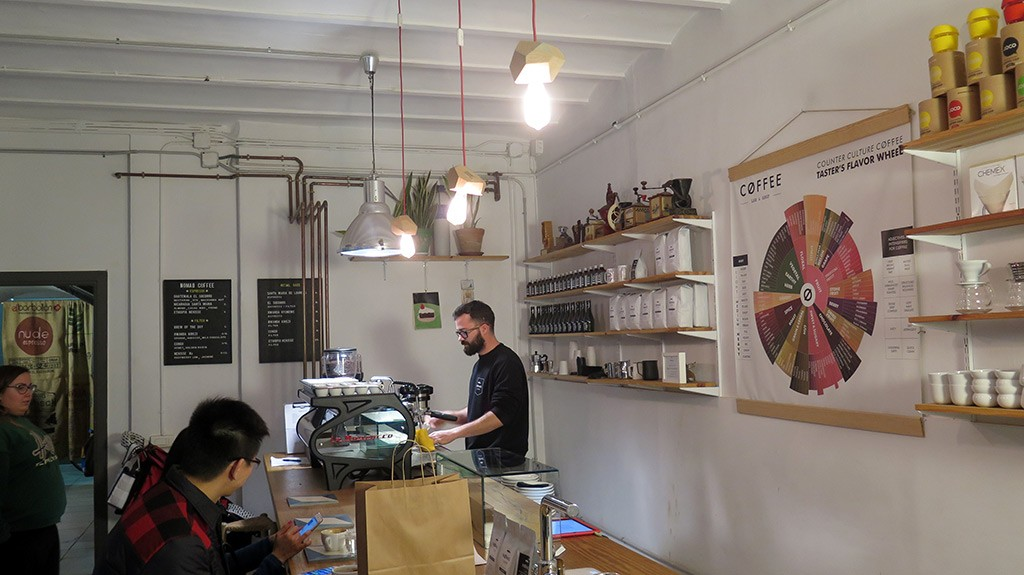 Barista Nomad Coffee Lab
