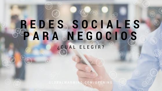 Photo of Redes Sociales para Negocios