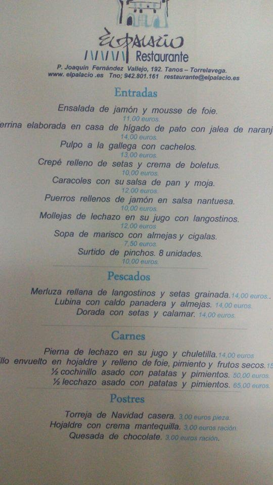 Cena de Navidad para llevar en Cantabria