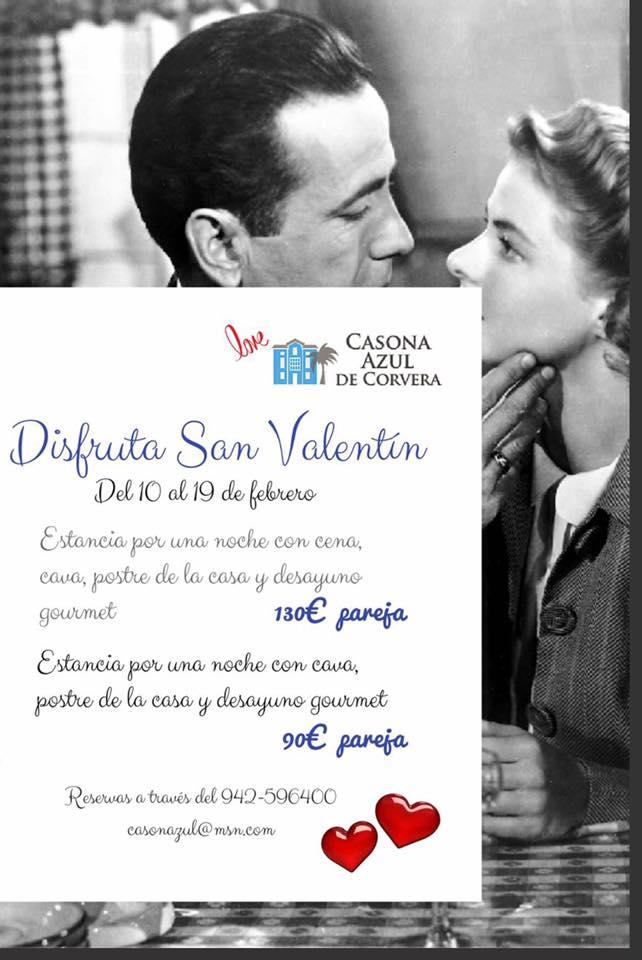 Casona Azul Corvera San Valentin 2017