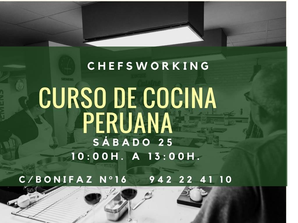 Curso Cocina Peruana Chefsworking