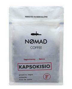 Nomad Coffee Filter en grano. Kapsokisio, Kenia - Roasted in Barcelona - 250gm