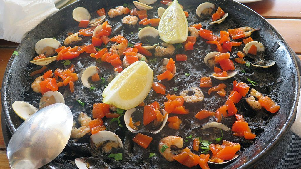 Arroz Negro - Patio Canario