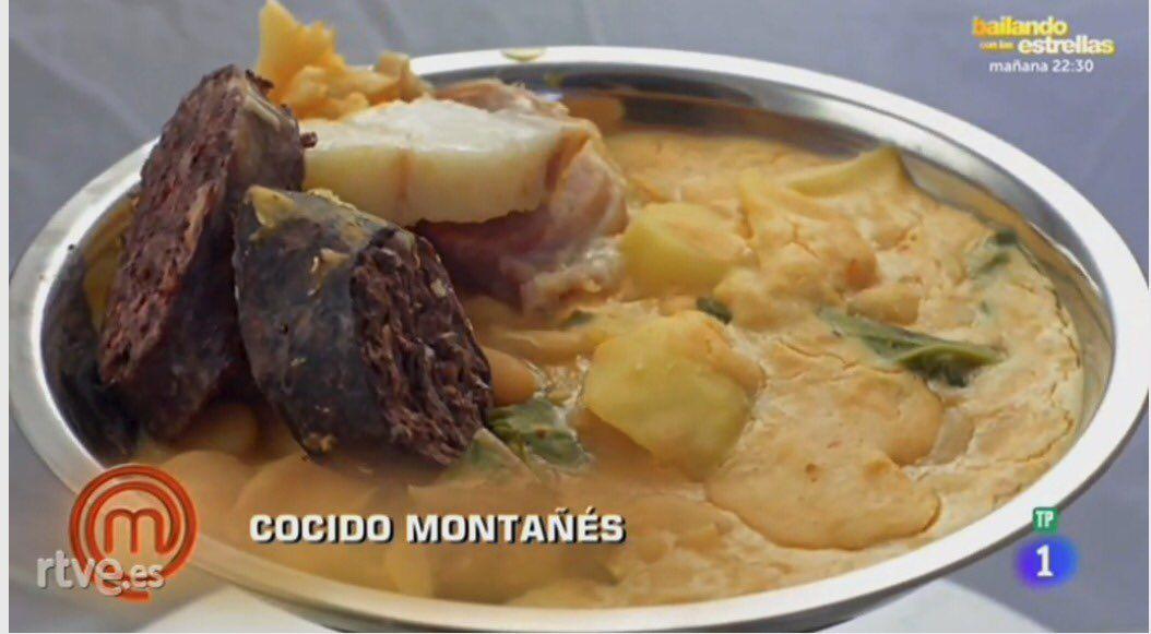 Photo of El cocido montañés de MasterChef