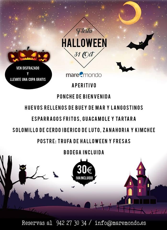 Fiesta Halloween Maremondo 2018