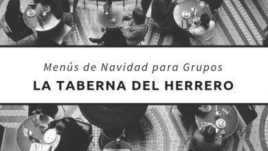 Menús de navidad 2018 en Santander para grupos - La Taberna del Herrero