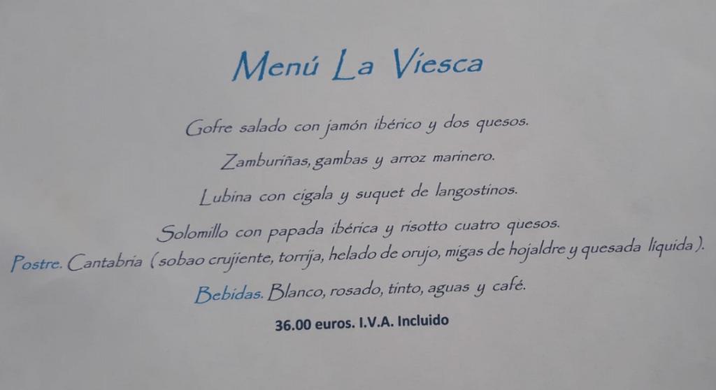 Menús Navidad 2018 - Restaurante el Palacio