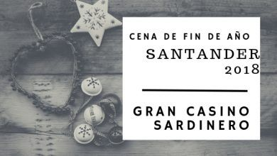 Photo of Cena de Fin de Año 2018 en Santander – Gran Casino
