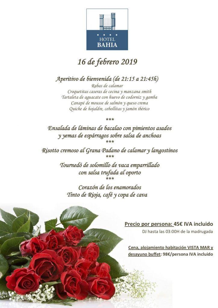 Planes para San Valentín 2019 en Santander - Hotel Bahía.