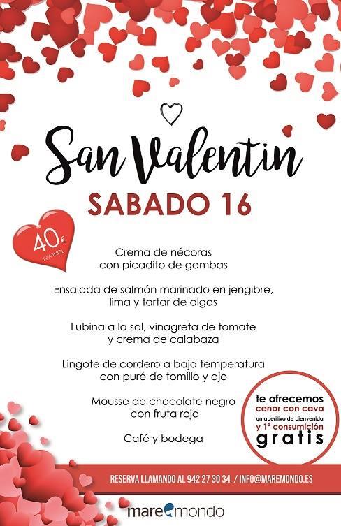 San Valentín 2019 en Santander - Maremondo