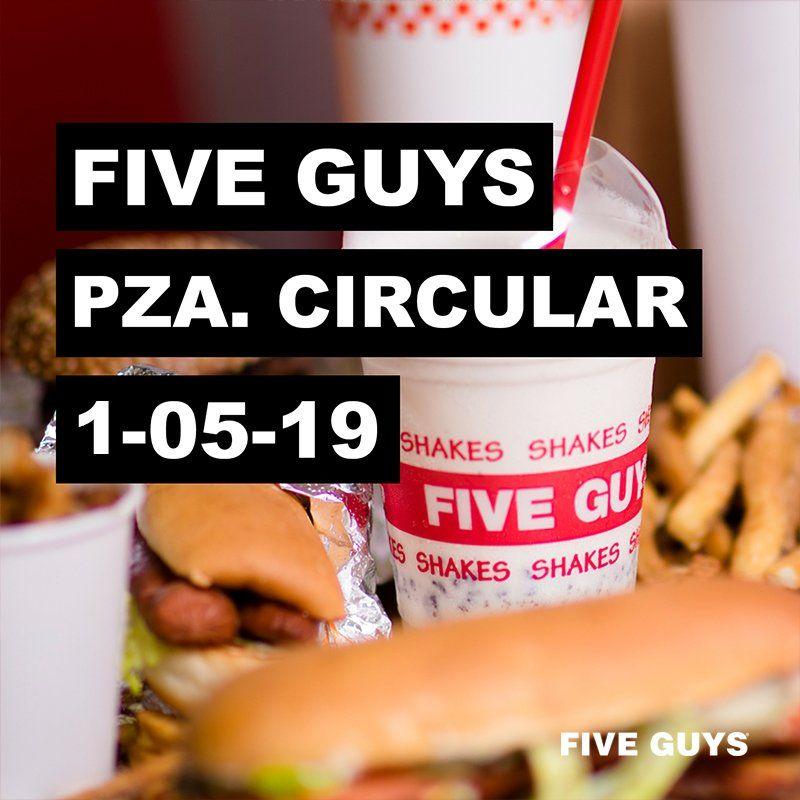 Five Guys Bilbao - Inauguración