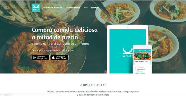 Photo of Komefy otra app para no desperdiciar comida