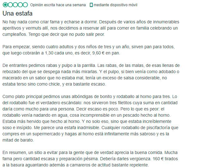 Queja de estafa - La Mulata Santander