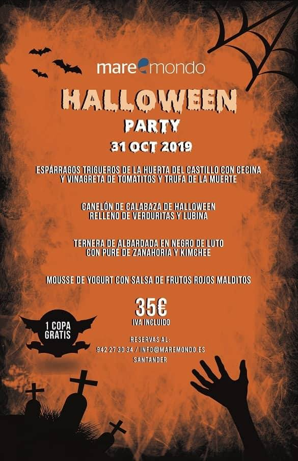 Halloween Maremondo Santander 2019