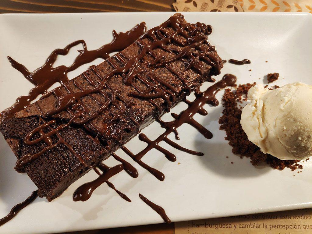 Brownie - La pepita burguer Valladolid