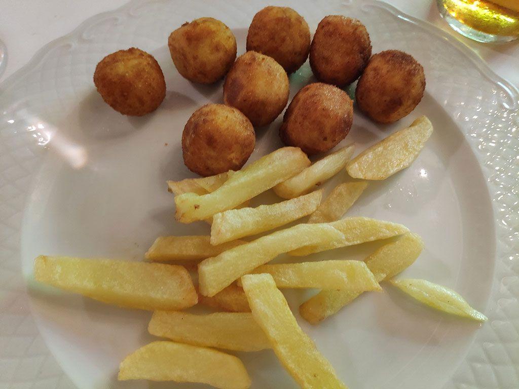 Croquetas con patatas