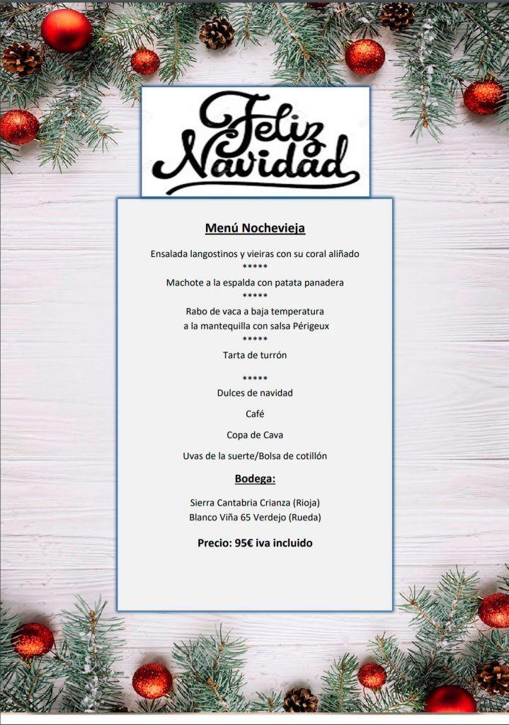 Menú de Nochevieja para llevar 2020 - Restaurante Maremondo